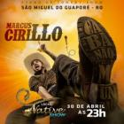 STAND UP - MARCUS CIRILLO SÃO MIGUEL DO GUAPORÉ
